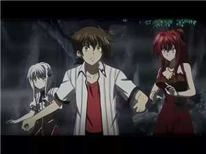 High School DxD BorN - 01 mkv 720p